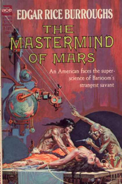 Ace Books - The Mastermind of Mars - Edgar Rice Burroughs