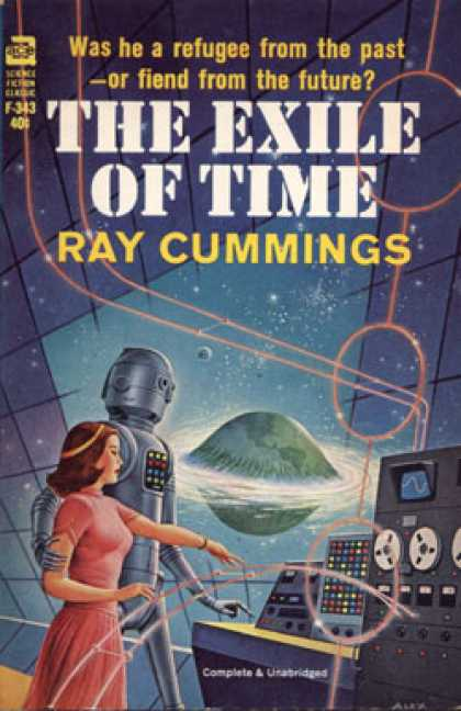 Ace Books - The Exile of Time - Ray Cummings