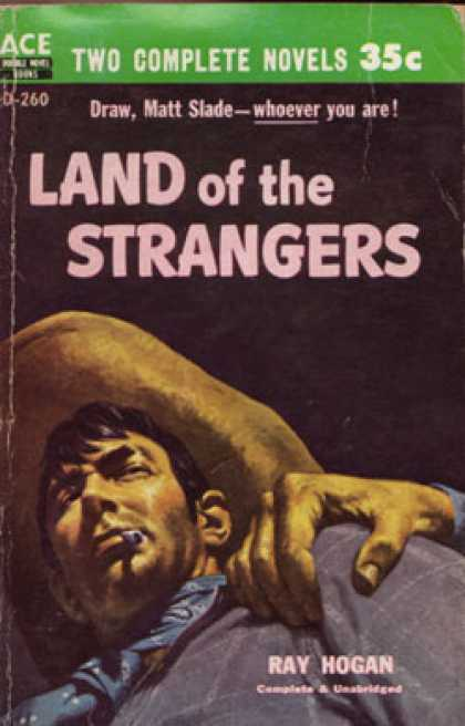 Ace Books - Land of Strangers - Ray Hogan