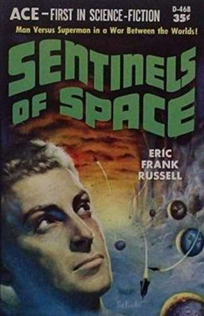 Ace Books - Sentinels From Space - Russell