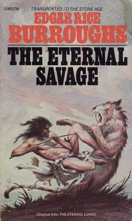 Ace Books - The Eternal Savage - Edgar Rice Burroughs