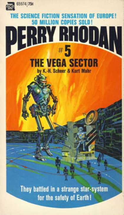 Ace Books - The Vega Sector