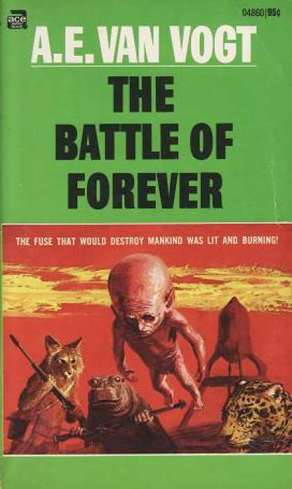 Ace Books - The Battle of Forever - A. E. Van Vogt