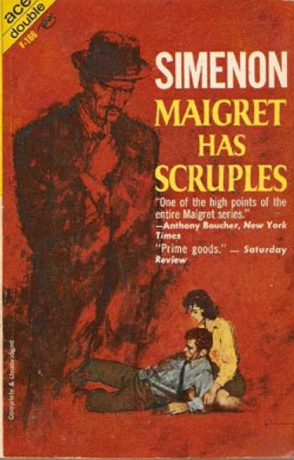 Ace Books - Maigret Has Scruples/maigret and the Reluctant Witness - Georges Simenon