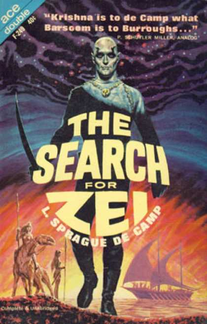 Ace Books - The Search for Zei/the Hand of Zei - L. Sprague De Camp