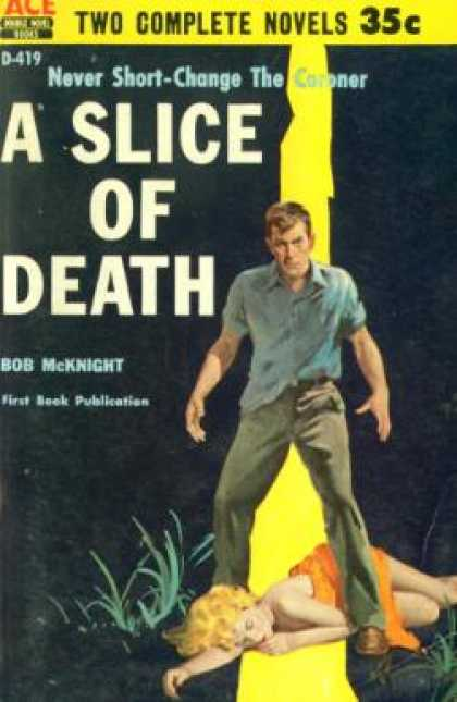 Ace Books - A Slice of Death - Bob McKnight