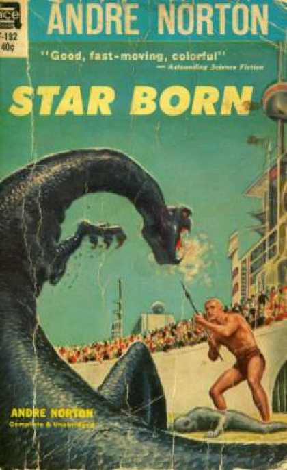 Ace Books - Star Born - Andre Norton