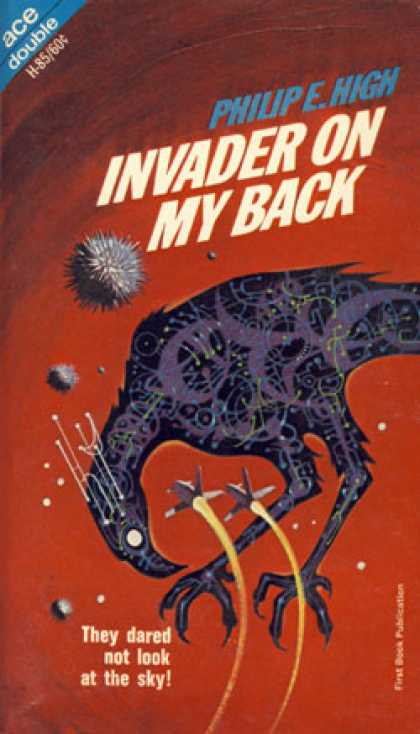 Ace Books - Invader On My Back / Destination: Saturn (ace Double #h-85