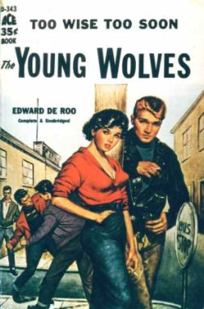 Ace Books - The Young Wolves - Edward De Roo
