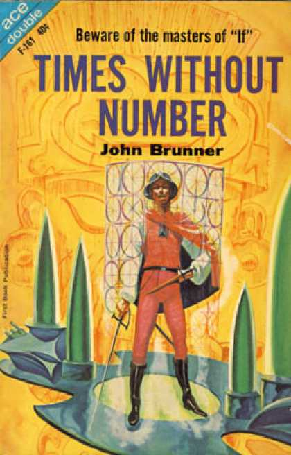 Ace Books - Times Without Number / Destinys Orbit - John / Grinnell, David Brunner