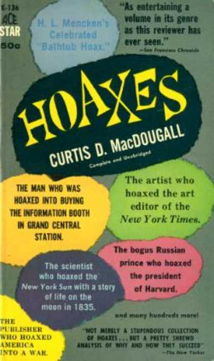 Ace Books - Hoaxes - Curtis Macdougall