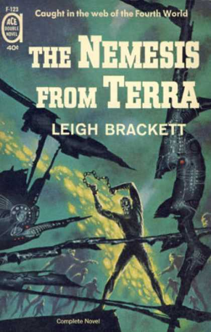 Ace Books - Collision Course / the Nemesis From Terra - Leigh Brackett