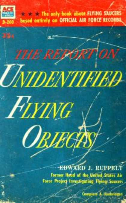 Ace Books - The Report On Unidentified Flying Objects