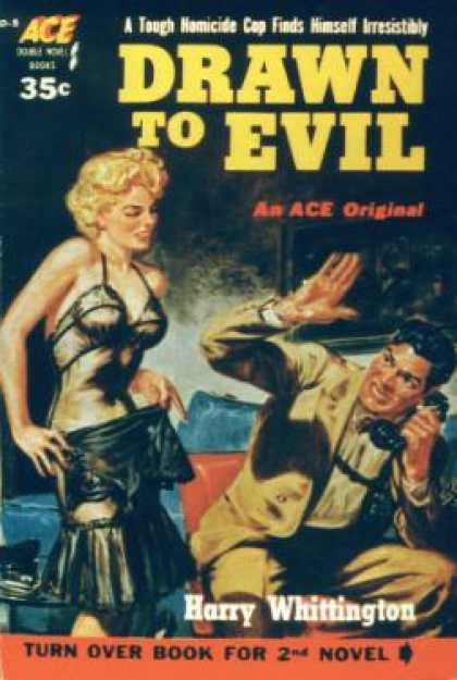 Ace Books - Drawn To Evil / the Scarlet Spade