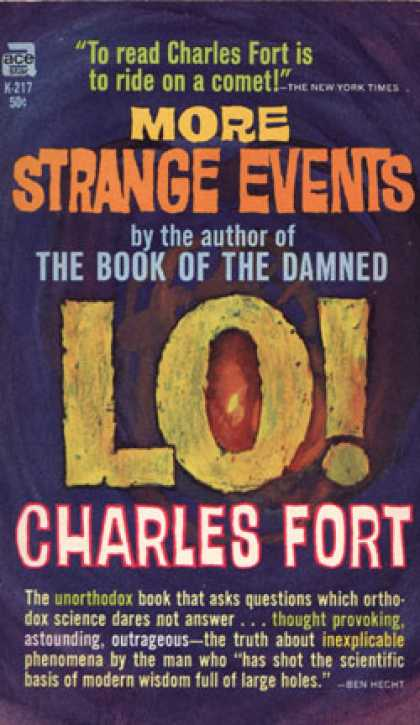 Ace Books - Lo! - Charles Fort