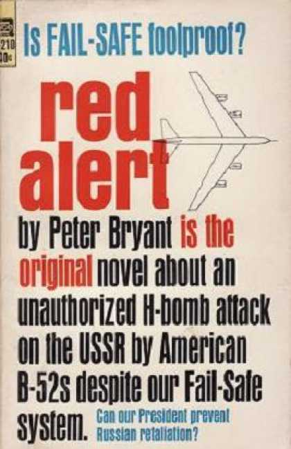 Ace Books - Red Alert - Peter Bryant