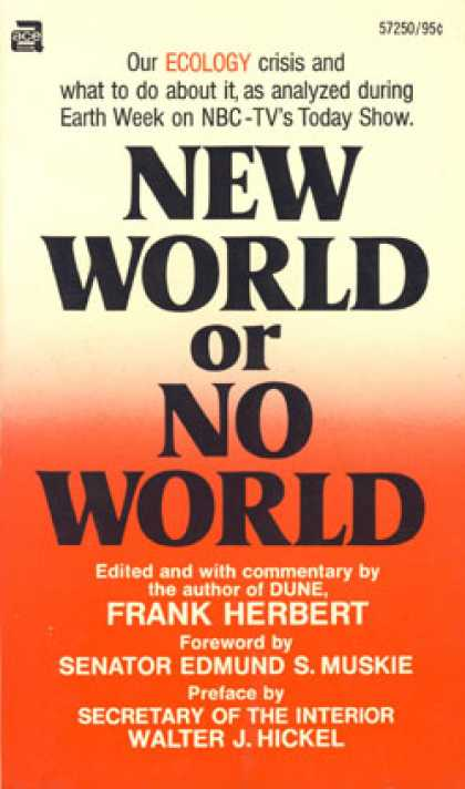 Ace Books - New World or No World - F Herbert