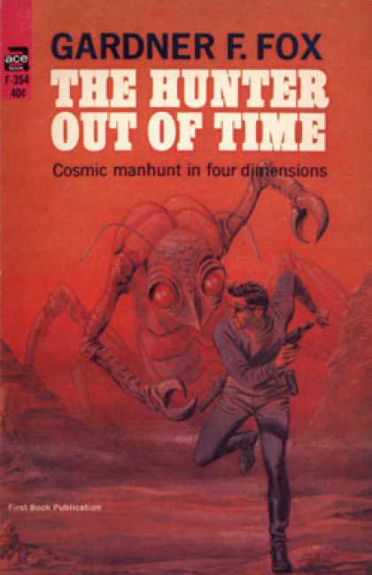 Ace Books - The Hunter Out of Time