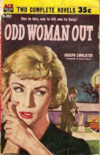Ace Books - Odd Woman Out - Joseph Linklater