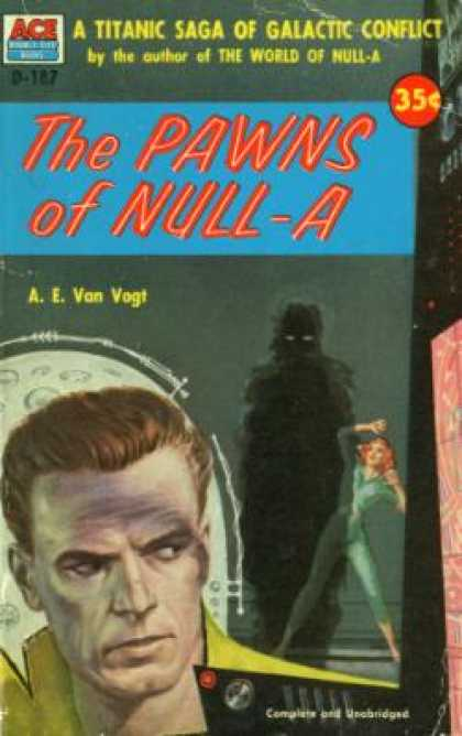 Ace Books - The Pawns of Null-a - A. E. Van Vogt