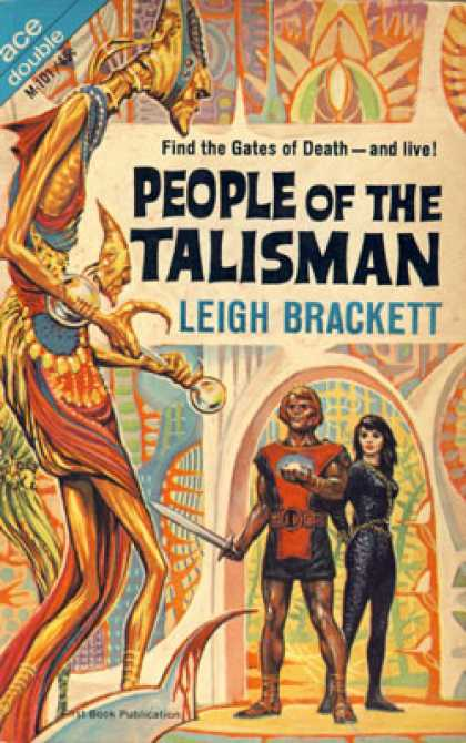 Ace Books - The Secret of Sinharat/people of the Talisman - Leigh Brackett