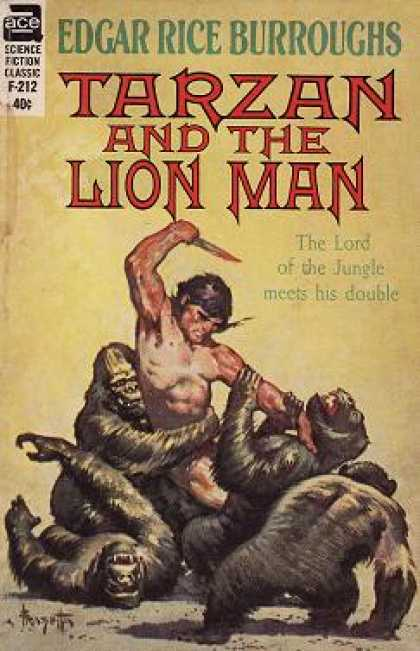 Ace Books - Tarzan and the Lion Man (ace Sf Classic F-212) - Edgar Rice Burroughs