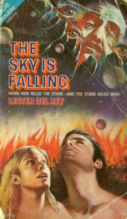 Ace Books - The Sky Is Falling / Badge of Infamy - Lester Del Rey