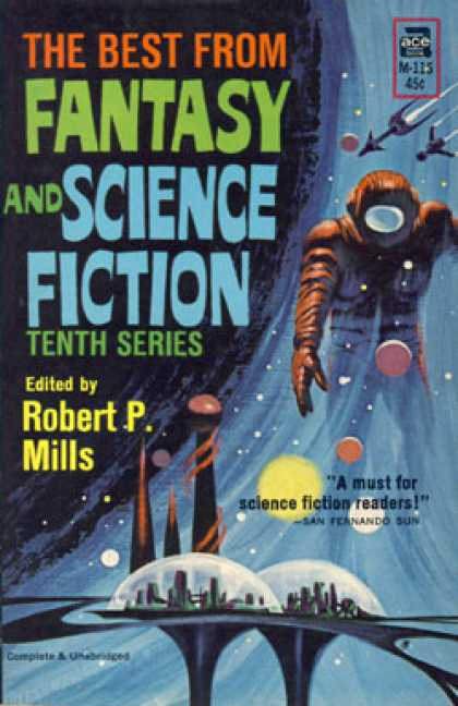 Ace Books - The Best From Fantasy and Science Fiction: Tenth Series - Robert P. Mills