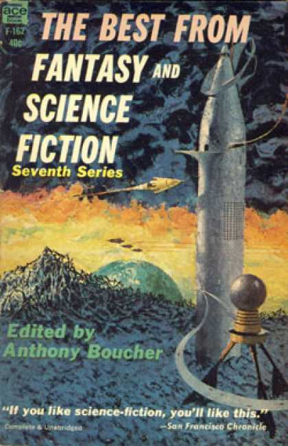 Ace Books - The Best From Fantasy and Science Fiction Seventh Series