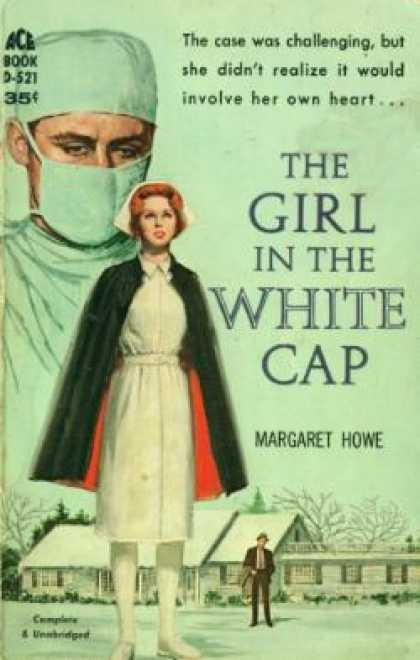Ace Books - The Girl In the White Cap - Margaret Howe