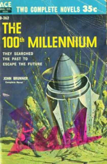 Ace Books - Edge of Time / the 100th Millennium