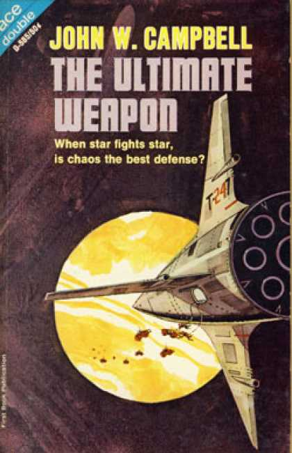 Ace Books - The Planeteers and the Ultimate Weapon - John Wood Campbell