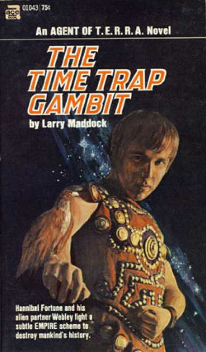 Ace Books - The Time Trap Gambit - Larry Maddock