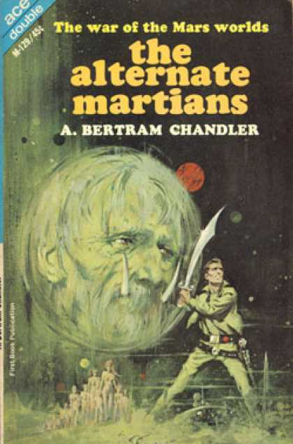 Ace Books - The Alternate Martians and Empress of Outer Space
