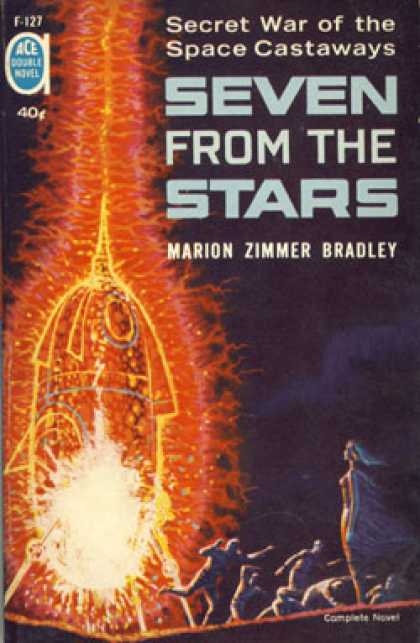 Ace Books - Seven From the Stars / Worlds of the Imperium - Marion Zimmer / Laumer, Keith Br