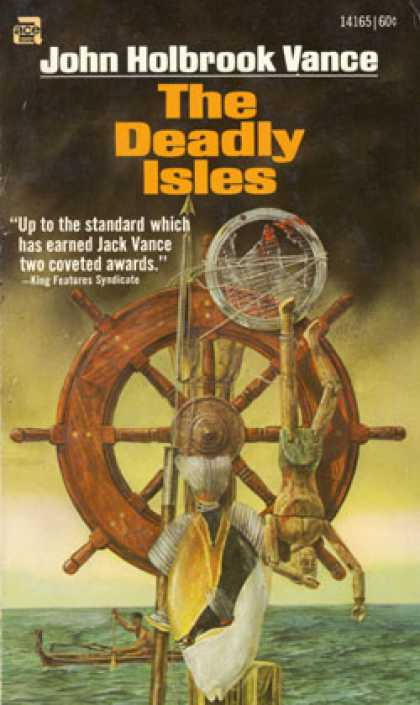 Ace Books - The Deadly Isles - Jack Vance