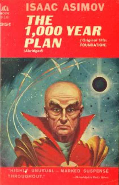 Ace Books - The 1,000 Year Plan (1951 Paperback)