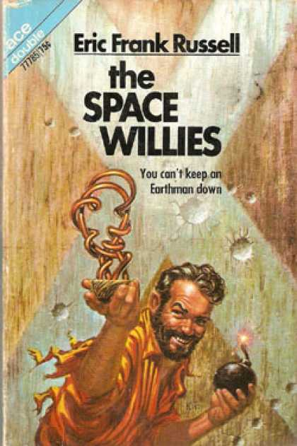 Ace Books - The Space Willies / Six Worlds Yonder - Eric Frank Russell