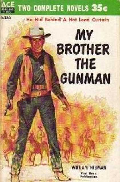 Ace Books - My Brother the Gunman / Concho Valley - William Heuman