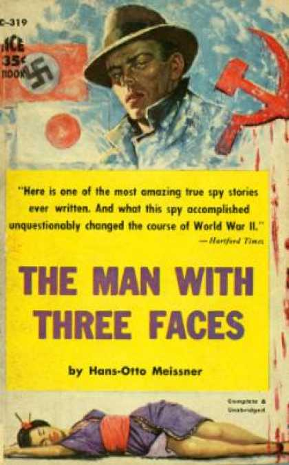 Ace Books - Man With Three Faces