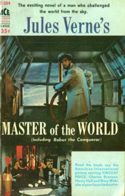 Ace Books - Master of the World Including Robur the Conqueror - Jules Verne