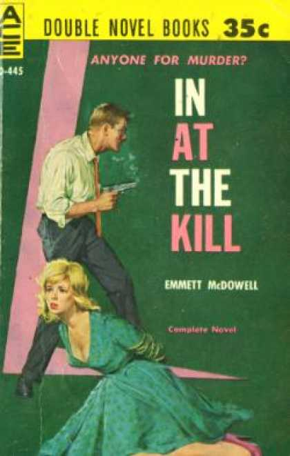 Ace Books - Bloodline To Murder / In at the Kill - Emmett Mcdowell