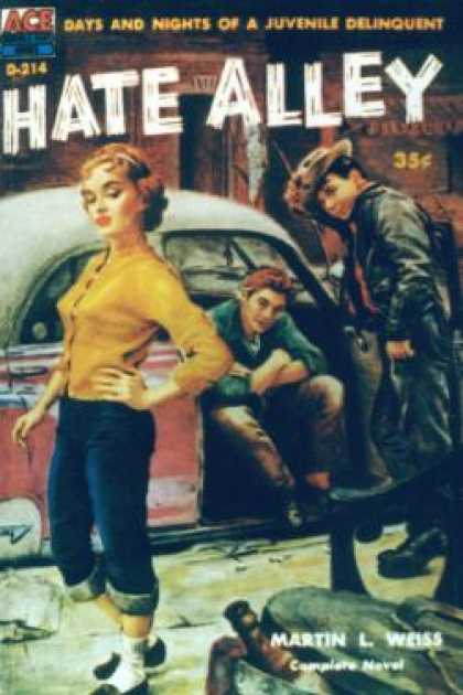 Ace Books - Hate Alley - Martin L. Weiss