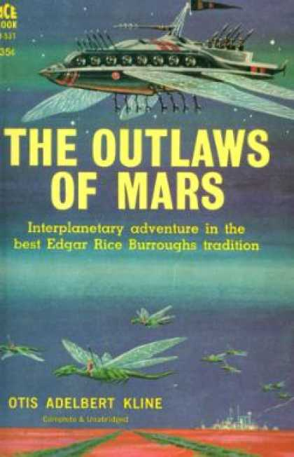 Ace Books - The Outlaws of Mars