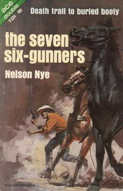 Ace Books - Bancroft's Banco & the Seven Six-gunners - Nelson Nye