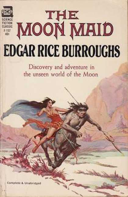 Ace Books - The Moon Maid - Edgar Rice Burroughs