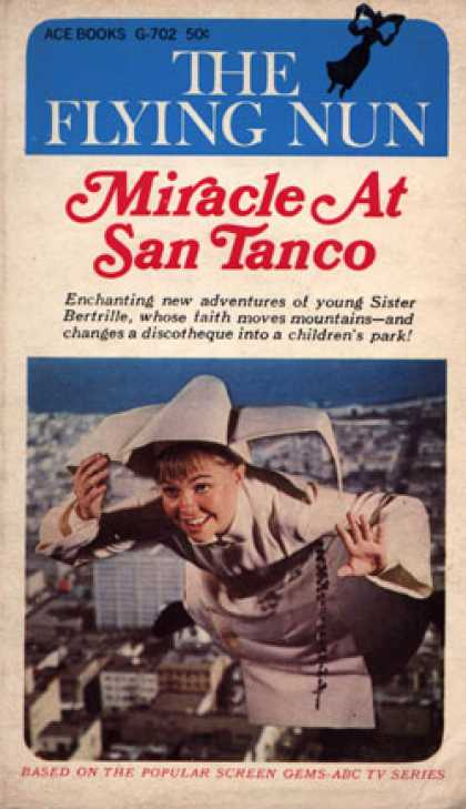 Ace Books - The Flying Nun: Miracle at San Tanco - William Johnston