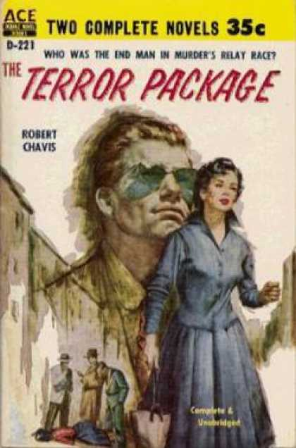 Ace Books - Youve Bet Your Life/ the Terror Package - Gordon / Chavis, Robert Ashe