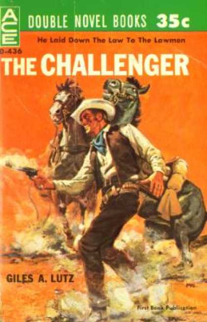 Ace Books - The Challenger - Giles A. Lutz