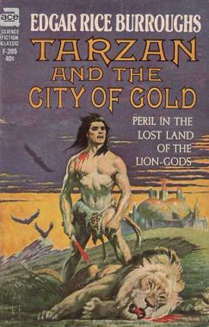 Ace Books - Tarzan and the City of Gold - Edgar Rice Burroughs